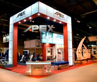 Stand diseño para Apex