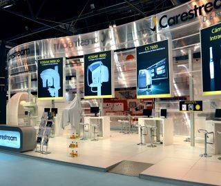 Diseño de stand para Carestream