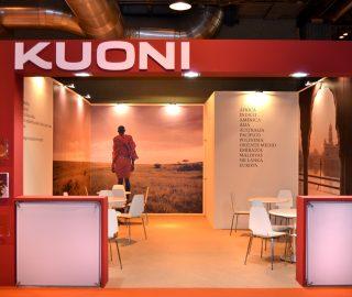 Stand de diseño para Kuoni en Fitur