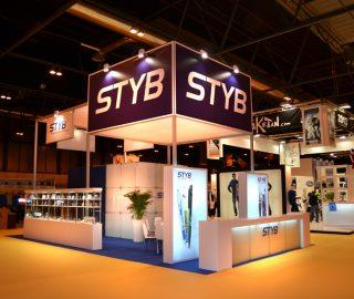 Stand diseño Styb feria Exporeclam