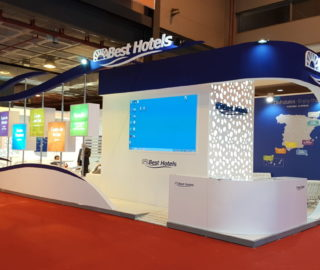 Stand diseño Best Hotels